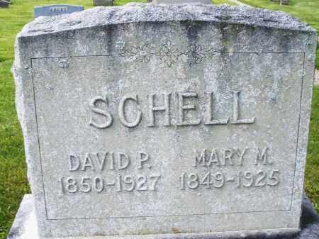 SCHELL, DAVID P. - Montgomery County, Ohio | DAVID P. SCHELL - Ohio Gravestone Photos