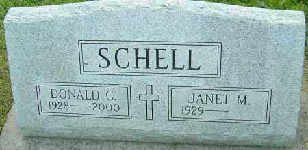 SCHELL, DONALD C - Montgomery County, Ohio | DONALD C SCHELL - Ohio Gravestone Photos