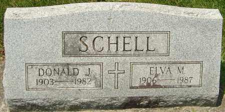SCHELL, DONALD J - Montgomery County, Ohio | DONALD J SCHELL - Ohio Gravestone Photos