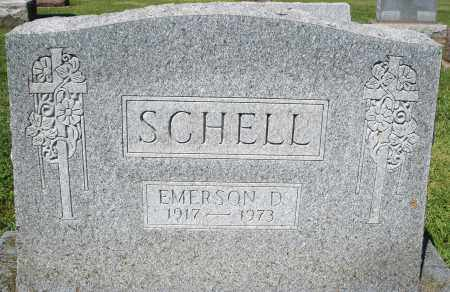 SCHELL, EMERSON D. - Montgomery County, Ohio | EMERSON D. SCHELL - Ohio Gravestone Photos
