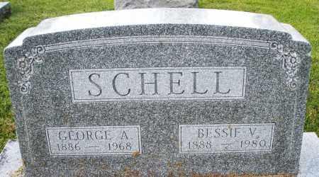 SCHELL, BESSIE V. - Montgomery County, Ohio | BESSIE V. SCHELL - Ohio Gravestone Photos