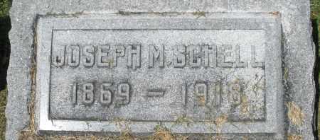 SCHELL, JOSEPH M. - Montgomery County, Ohio | JOSEPH M. SCHELL - Ohio Gravestone Photos