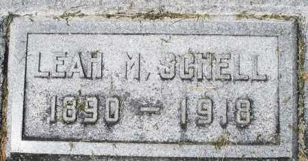 SCHELL, LEAH M. - Montgomery County, Ohio | LEAH M. SCHELL - Ohio Gravestone Photos