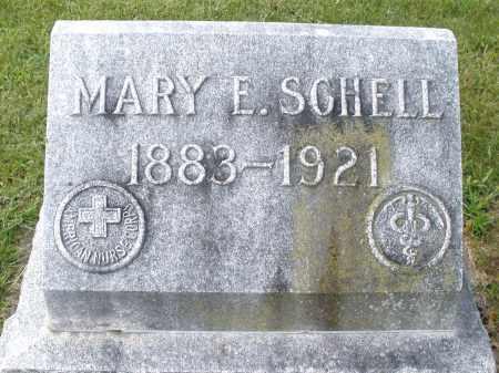 SCHELL, MARY E. - Montgomery County, Ohio | MARY E. SCHELL - Ohio Gravestone Photos