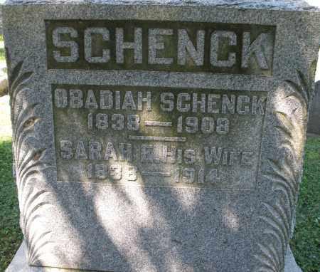 SCHENCK, SARAH E. - Montgomery County, Ohio | SARAH E. SCHENCK - Ohio Gravestone Photos