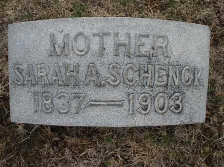 SCHENCK, SARAH A. - Montgomery County, Ohio | SARAH A. SCHENCK - Ohio Gravestone Photos