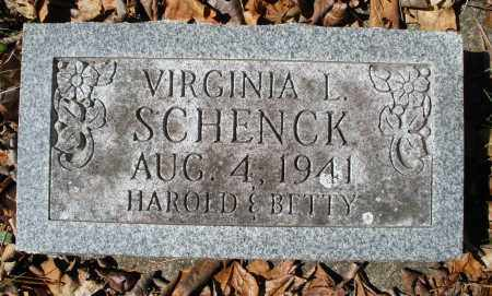 SCHENCK, VIRGINIA L. - Montgomery County, Ohio | VIRGINIA L. SCHENCK - Ohio Gravestone Photos