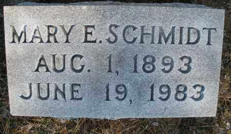 SCHMIDT, MARY E. - Montgomery County, Ohio | MARY E. SCHMIDT - Ohio Gravestone Photos