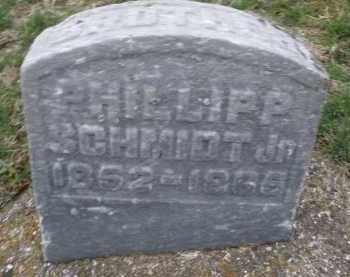 SCHMIDT, PHILLIP JR. - Montgomery County, Ohio | PHILLIP JR. SCHMIDT - Ohio Gravestone Photos