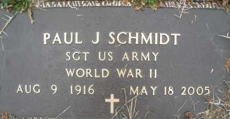 SCHMIDT, PAUL J. - Montgomery County, Ohio | PAUL J. SCHMIDT - Ohio Gravestone Photos