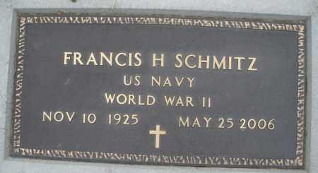 SCHMITZ, FRANCIS H. - Montgomery County, Ohio | FRANCIS H. SCHMITZ - Ohio Gravestone Photos