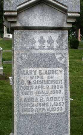 ABBEY, LAURA B. - Montgomery County, Ohio | LAURA B. ABBEY - Ohio Gravestone Photos