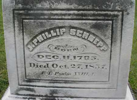 SCHNEPP, J. PHILLIP - Montgomery County, Ohio | J. PHILLIP SCHNEPP - Ohio Gravestone Photos