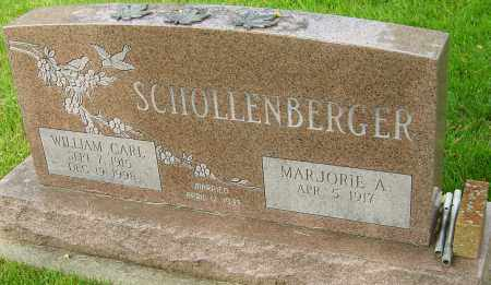 SCHOLLENBERGER, WILLIAM CARL - Montgomery County, Ohio | WILLIAM CARL SCHOLLENBERGER - Ohio Gravestone Photos