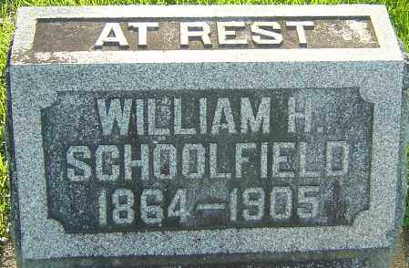 SCHOOLFIELD, WILLIAM H - Montgomery County, Ohio | WILLIAM H SCHOOLFIELD - Ohio Gravestone Photos