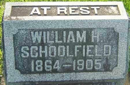 SCHOOLFIELD, WILLIAM H - Montgomery County, Ohio | WILLIAM H SCHOOLFIELD - Ohio Gravestone Photos