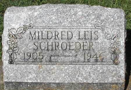 SCHROEDER, MILDRED - Montgomery County, Ohio | MILDRED SCHROEDER - Ohio Gravestone Photos