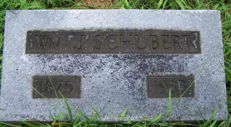 SCHUBERT, WM. J. - Montgomery County, Ohio | WM. J. SCHUBERT - Ohio Gravestone Photos