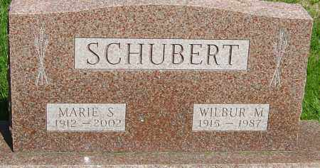 SCHUBERT, WILBUR M - Montgomery County, Ohio | WILBUR M SCHUBERT - Ohio Gravestone Photos