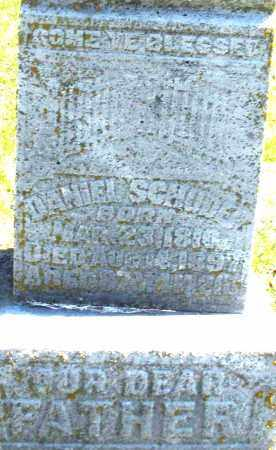 SCHUDER, DANIEL - Montgomery County, Ohio | DANIEL SCHUDER - Ohio Gravestone Photos