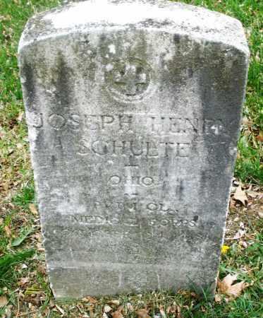 SCHULTE, JOSEPH HENRY - Montgomery County, Ohio | JOSEPH HENRY SCHULTE - Ohio Gravestone Photos