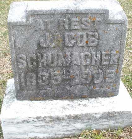 SCHUMACHER, JACOB - Montgomery County, Ohio | JACOB SCHUMACHER - Ohio Gravestone Photos