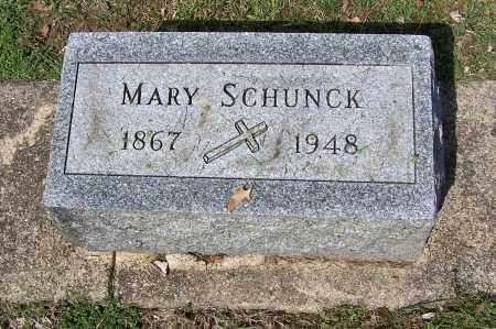 SCHUNCK, MARY - Montgomery County, Ohio | MARY SCHUNCK - Ohio Gravestone Photos
