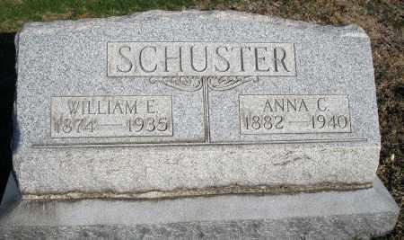 SCHUSTER, WILLIAM E. - Montgomery County, Ohio | WILLIAM E. SCHUSTER - Ohio Gravestone Photos