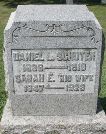 SCHUTER, DANIEL L. - Montgomery County, Ohio | DANIEL L. SCHUTER - Ohio Gravestone Photos