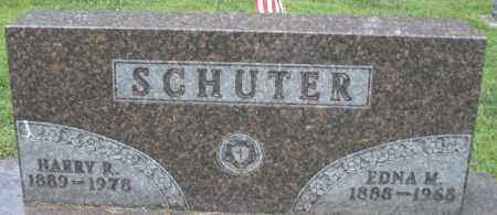 SCHUTER, HARRY R. - Montgomery County, Ohio | HARRY R. SCHUTER - Ohio Gravestone Photos