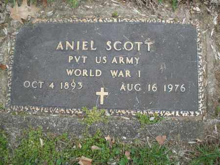 SCOTT, ANIEL - Montgomery County, Ohio | ANIEL SCOTT - Ohio Gravestone Photos