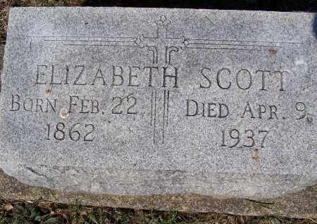 SCOTT, ELIZABETH - Montgomery County, Ohio | ELIZABETH SCOTT - Ohio Gravestone Photos