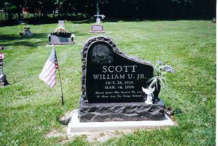 SCOTT, JR., WILLIAM U. - Montgomery County, Ohio | WILLIAM U. SCOTT, JR. - Ohio Gravestone Photos