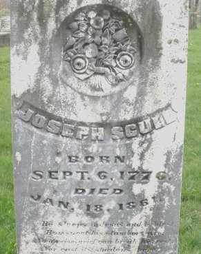 SCULL, JOSEPH - Montgomery County, Ohio | JOSEPH SCULL - Ohio Gravestone Photos