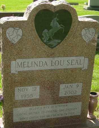 SEAL, MELINDA LOU - Montgomery County, Ohio | MELINDA LOU SEAL - Ohio Gravestone Photos