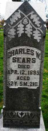 SEARS, CHARLES W. - Montgomery County, Ohio | CHARLES W. SEARS - Ohio Gravestone Photos