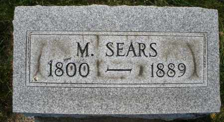 SEARS, M. - Montgomery County, Ohio | M. SEARS - Ohio Gravestone Photos