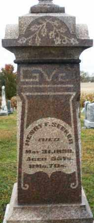 SEEKER, HENRY F. - Montgomery County, Ohio | HENRY F. SEEKER - Ohio Gravestone Photos