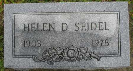 SEIDEL, HELEN D. - Montgomery County, Ohio | HELEN D. SEIDEL - Ohio Gravestone Photos