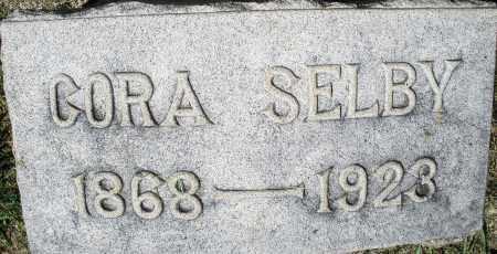 SELBY, CORA - Montgomery County, Ohio | CORA SELBY - Ohio Gravestone Photos
