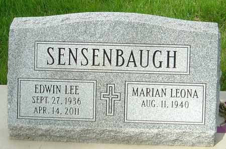 SENSENBAUGH, EDWIN LEE - Montgomery County, Ohio | EDWIN LEE SENSENBAUGH - Ohio Gravestone Photos