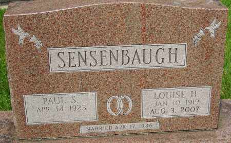 SENSENBAUGH, LOUISE H - Montgomery County, Ohio | LOUISE H SENSENBAUGH - Ohio Gravestone Photos