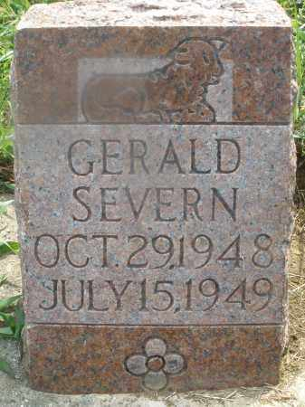 SEVERN, GERALD - Montgomery County, Ohio | GERALD SEVERN - Ohio Gravestone Photos