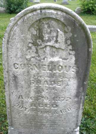 SHADE, CORNELIOUS - Montgomery County, Ohio   CORNELIOUS SHADE - Ohio Gravestone Photos