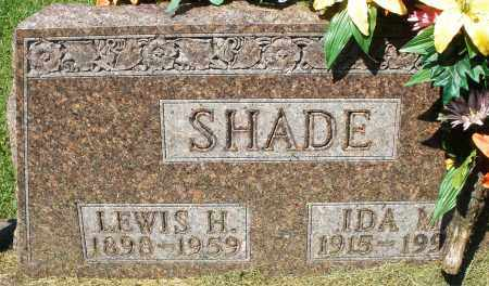 SHADE, IDA M. - Montgomery County, Ohio | IDA M. SHADE - Ohio Gravestone Photos