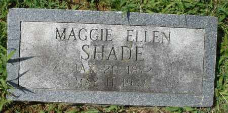 SHADE, MAGGIE ELLEN - Montgomery County, Ohio | MAGGIE ELLEN SHADE - Ohio Gravestone Photos