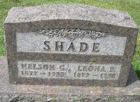 SHADE, LEONA B. - Montgomery County, Ohio | LEONA B. SHADE - Ohio Gravestone Photos