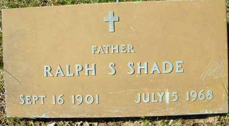 SHADE, RALPH S. - Montgomery County, Ohio | RALPH S. SHADE - Ohio Gravestone Photos