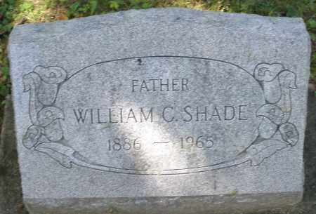 SHADE, WILLIAM C. - Montgomery County, Ohio | WILLIAM C. SHADE - Ohio Gravestone Photos