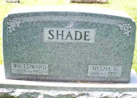 SHADE, WILLIAM EDWARD - Montgomery County, Ohio | WILLIAM EDWARD SHADE - Ohio Gravestone Photos